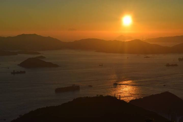 sunset-hike