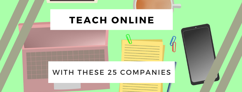 Teach English Online with these 25 Companies! 2020